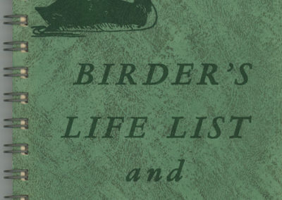 Birder Diary 1