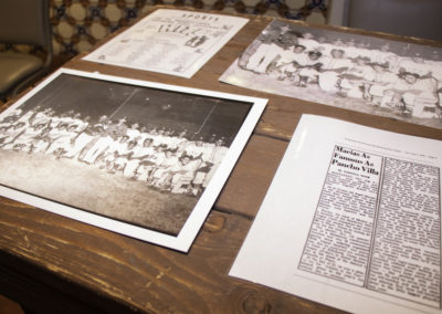 1958 Edinburg Pony League Reception