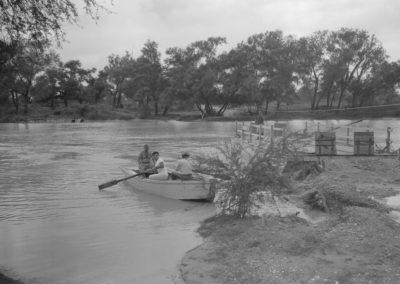 Los Ebanos Ferry 5-20-1965